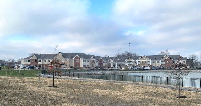 Construction Finishes Up at Danbury in North Ridgeville